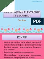 Pembelajaran Elektronik