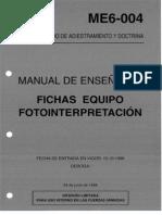 ME6-004 FICHAS EQUIPO FOTOINTERPRETACIÓN (1998)