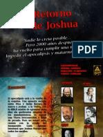 Flyer El Retorno de Joshua