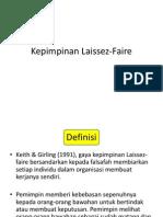 Kepimpinan Laissez Faire
