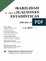 Probabilidad y aplicaciones estadísticas