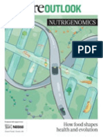 Nature Outlook Nutrigenomics. How Food Shapes Health and Evolution.textMark