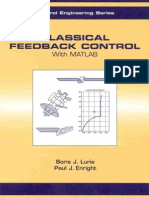 Classical Feedback Control With MATLAB - Boris J. Lurie and Paul J. Enright