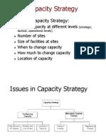 Capacity Strategy