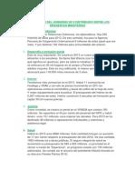 Presupuesto Del Gobierno 2013 Distribuido Entre Los Diferentes Minsiterios