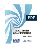 Serbian Project Management Journal Volume1 Issue2