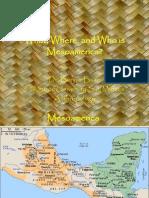 Intro Mesoamerica Week 1