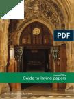Laying Papersenglish