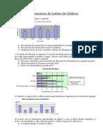 Revisão 5 - Exercícios de Leitura de Gráficos