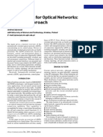 Control Plane for Optical Networks of ASON