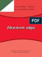 Zdravstveni Odgoj - Prirucnik OS Razredna