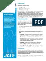 USJC LAG Pengarliamentary Procedures
