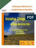 Microcentros de alta diversidad de papas nativas para monitorear su conservación in-situ