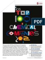 Icis Top 100 Chemicalscompanies2012