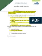 Cuestionario SISTEMAS OPERATIVOS Respuesta