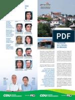 Freguesia de S. Miguel de Machede – Programa Eleitoral