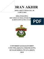 sampul laporan akhir