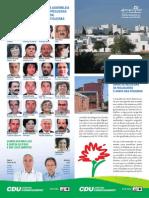 União de Freguesias da Malagueira e Horta das Figueiras – Programa Eleitoral