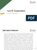 Igate presentation