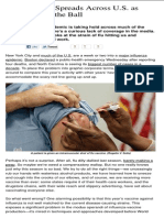 Health - Flu Outbreak Spreads Across US as Media Drops the Ball - 2013_01