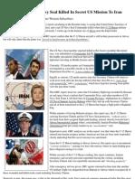 Insider News - 1641 - Clinton Injured, US Navy Seal Killed in Secret US Mission to Iran