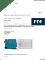 Arduino - Debounce