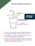Detalhamento do Projeto de Estacas - Transparências - 23-01-2002