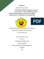 Proposal TA Flotasi - PT.newmont Nusa Tenggara_sip