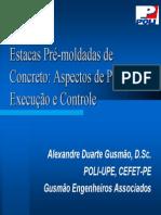 Estacas Pré-Moldadas de Concreto - Aspectos de Projeto, Execução e Controle - 12-09-2004