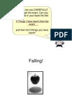 Lesson 9 Falling