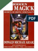 Modern Sex Magick Secrets of Erotic Spirituality