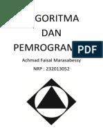 Cover Algoritma Dan Pemrograman