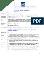 ACNUExpress Vol.4 No.8 - Du 1 Au 15 Juin 2009