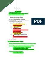 Estructura Dossier de Calidad