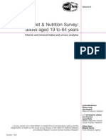 The National Diet and Nutritional Survey (2003)