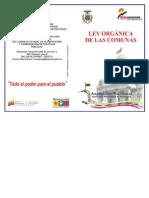 Ley de las Comunas Venezuela
