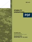 Army Manual Stability Operations