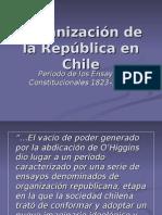 Organización de la República en Chile