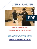 Ninjutsu. Shoto Tanemura. Training with Sato Kimbei