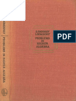 MIR - Faddeev D. K. and Sominsky I. - Problems in Higher Algebra - 1972