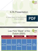 ILTA - Law Firm of the Future - 25 Aug 2010 - Abraham Friedmann Neiditsch Rovner - V 3 Aug 2010