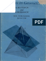 MIR - Kutepov a. and Rubanov a. - Problems in Geometry - Mir 1978