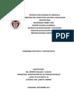 Paradigma Positivista y Pospositivista-eriorkys Majano