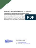 Fleck 7000 Greensand Installation & Start‐Up Guide