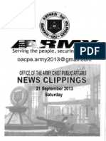 21 Sep 13 Newsclippings