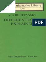 MIR - LML - Boltyansky v. G. - Differentiation Explained