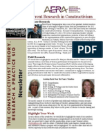 Constructivist SIG Newsletter September 2013 Edition