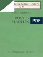 MIR - LML - Uspensky v. a. - Posts Machine