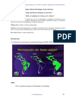 Ecología e historia del dengue en las Américas
