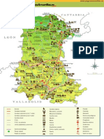 Map Province Palencia